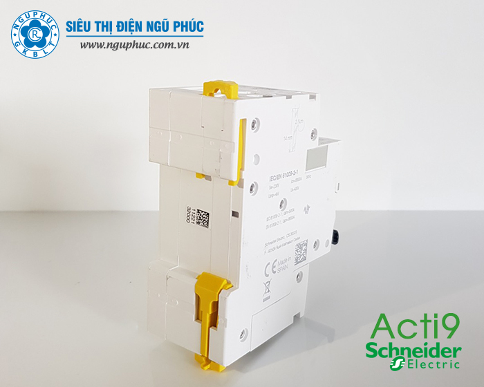 RCBO 1P+N 16A 30mA Acti 9 Schneider (A9D31616)